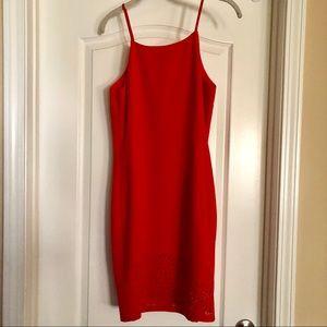 NWT Banana Republic Red-Orange Sheath Dress